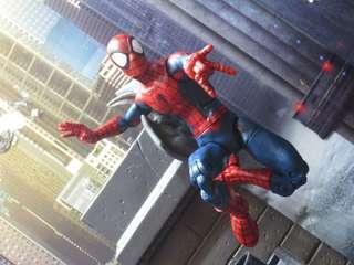"""MEGA SALE! VERY RARE & HOT! *IN STOCK* LAST ONE! Hasbro Marvel Legends Ultimate Spider-Man Peter Parker (Space Venom BAF) 6"""" Action Figure For SALE!. #MakeSpaceForLove"""