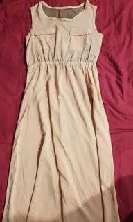 Almost new long dress