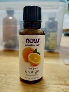 NOW orange essential oil