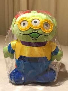 三眼仔 little green man LGM disney aliens