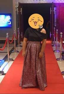 Floral Skirt for Formal Events