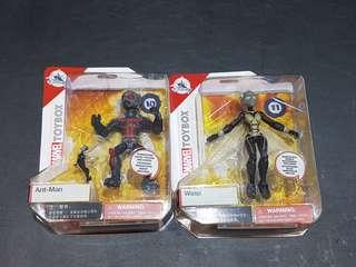Disney Store exclusive toybox Ant-Man and Wasp Set