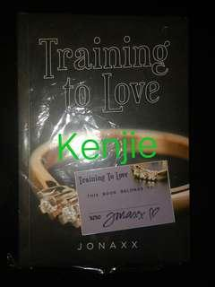 Training To Love by Jonaxx with SIGNED bookplate!!!