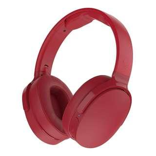 Skullcandy Hesh 3 Bluetooth Wireless Over-The-Ear Headphones With Mic (Red)