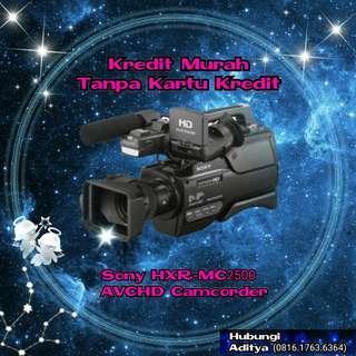 Camcorder Sony HXR-MC2500 AVCH,Kredit kamera murah tanpa CC diMacronic