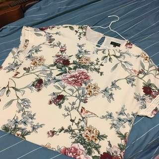 💞Zalora Celebrate Peony Floral Shift Dress