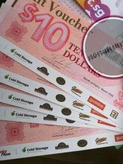 FREE $10 choice / 7 eleven vouchers