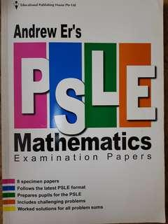 Andrew Er's PSLE Mathematics Exam Papers