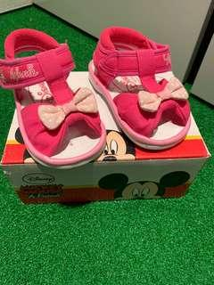 Disney Minnie Mouse Pre-Walker Sandals with sound