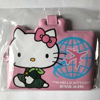 🚚 Limited Edition Sanrio Hello Kitty Eva Air Luggage Tag