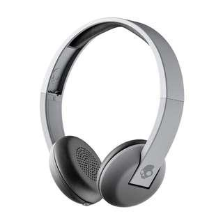 Skullcandy Uproar Bluetooth Wireless On the Ear Headphones (Gray)