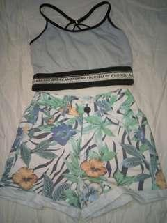 Tropical highwaist Short