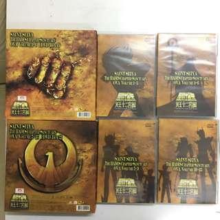 聖鬥士星矢 正版DVD 冥王十二宮編 1-12集齊