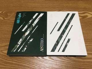 🚚 ASTRO 正規一輯 ALL LIGHT白綠版空專