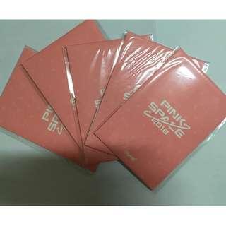 [官方]Apink Pink Space post card & photo card set