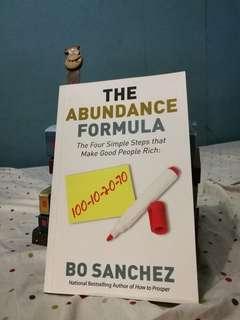 The Abundance Formula (by Bo Sanchez)