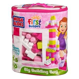 Mega Bloks First Builders -Pink