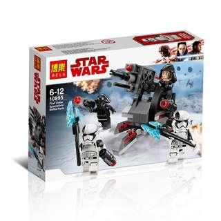 BELA™ 10895 Star Wars® First Order Specialists Battle Pack