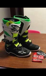 Alpinestar MX boots Tech7. used once.
