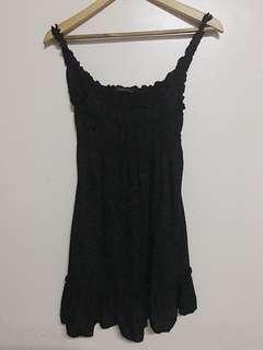 Black Babydoll Sleeveless Dress