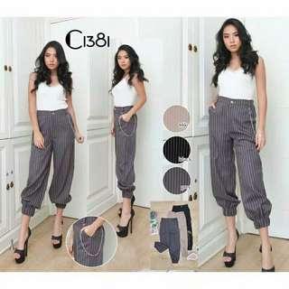 Zara look alike stripe pants