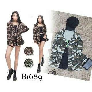 Zara look alike army Top / Jacket