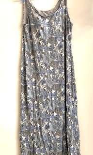 Uniqlo maxi bra dress
