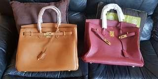 Top Grade Hermes Berkin 30 and 35cm Togo Leather
