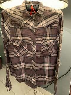 Woman Collar Long-Sleeve