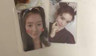 wts red velvet irene summer magic limited rookie pc