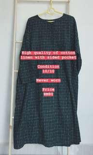 Linen baggy blouse