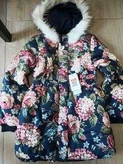 Winter Jacket  coat with hat