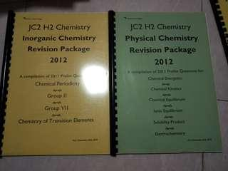 J2 chemistry revision package (A-level)