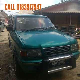 TOYOTA UNSER 1.8 MANUAL THN 2000
