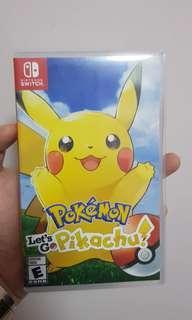 Nintendo Switch - Let's Go Pokemon