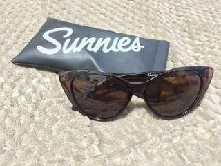 NAME YOUR PRICE: Brown Sunglesses with pouch