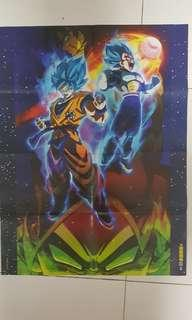 Dragon ball super brolly movie poster