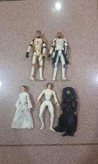 Star Wars Action Figures 300ea