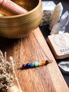 🚚 Chakra Alignment Bar Necklace