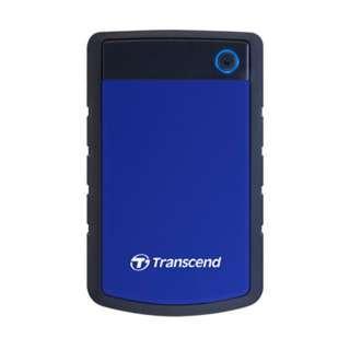 Transcend StoreJet 25H3P 2TB USB3.0 2.5吋防震行動硬碟