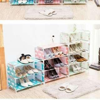(多件享優惠)三層組裝式鞋櫃收納櫃2組