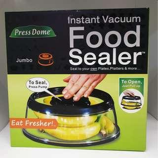 NEW Press Dome Instant Vacuum Food Sealer (Jumbo) BPA Free