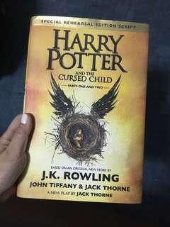 NAME YOUR PRICE: Harry Potter and the Cursed Child Hardbound