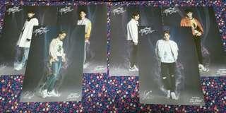 EXO Skechers D'Lites Sweet Monster Mini Posters Bromide
