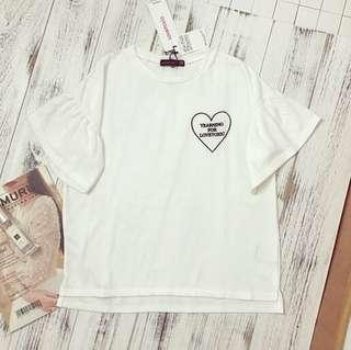 BN CUTE WHITE TOP FROM JAPAN