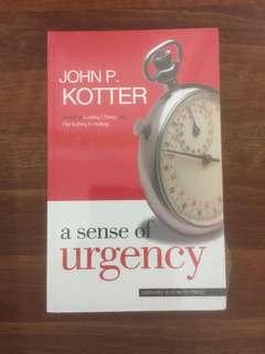 🚚 A Sense of Urgency