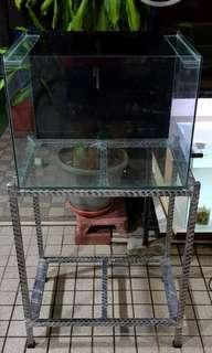 2ft fish tank plus stand