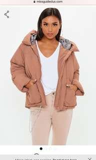 Puffer Jacket Missguided (S)