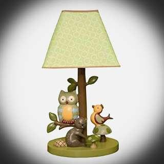 🚚 Forest Critters Lampshade for Little Ones