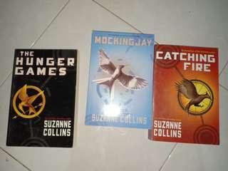 Novel Hunger Games Trilogy